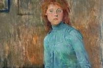 Jan Preisler, Dívka v modrém