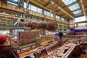Turbosoustrojí firmy Doosan Škoda Power