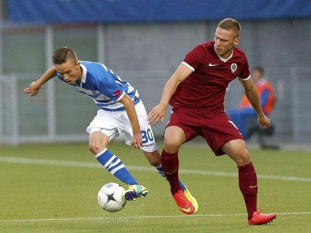 Zwolle - Sparta: Ryan Thomas a Pavel Kadeřábek