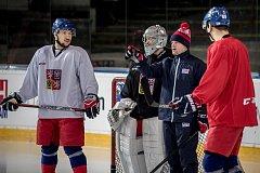Hokejová reprezentace se na olympijský turnaj už dlouho pečlivě připravuje.