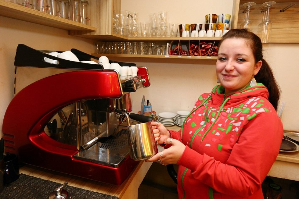 Kavárnice Kateřina Sýkorová vám připraví i Bílou nemoc.