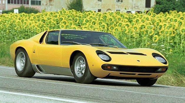 Lamborghini Miura SV (1971).