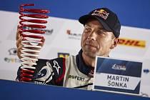 Martin Šonka po triumfu ve Vídni.