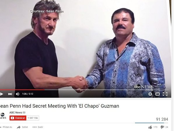 Košile, které měl na sobě mexický drogový boss Joaquín Guzmán při setkání samerickým hercem Seanem Pennem ve svém úkrytu a později při rozhovoru sním na dálku, se okamžitě vyprodaly.
