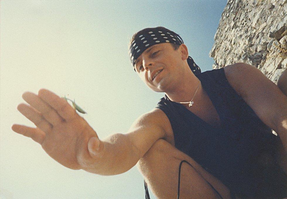 Petr Muk během působení v kapele Oceán