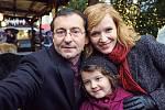 S Ondřejem Vetchým a Emou Švábenskou v Pohádkách pro Emu