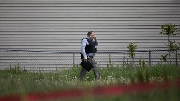 Policie v USA vyšetřuje kriminální čin.