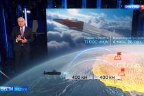 Pořad ruské státní televize Vesti Nedeli ukázal mapu cílů pro případný jaderný útok na USA