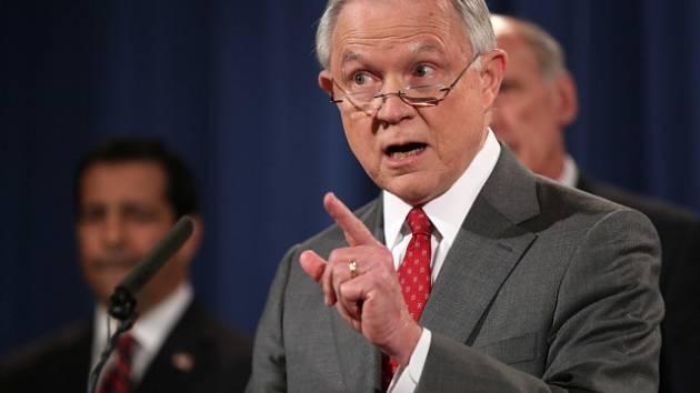 Ministr spravedlnosti Jeff Sessions