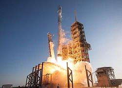 Zkušební lety rakety SpaceX