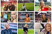 Nejatraktivnější sportovní reportérky.