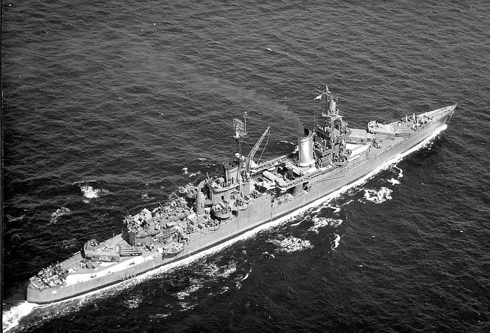 Indianapolis někdy mezi lety 1943 a 1944