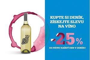 Získejte s Deníkem slevu na víno.