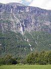 Norský vodopád Vinnufossen