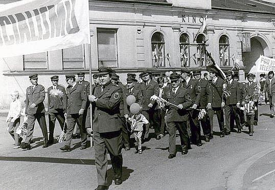 Lidové milice. Ilustrační foto