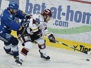 Fanoušci na Švédských hokejových hrách.