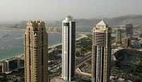 Poblíž Dubaje hořelo
