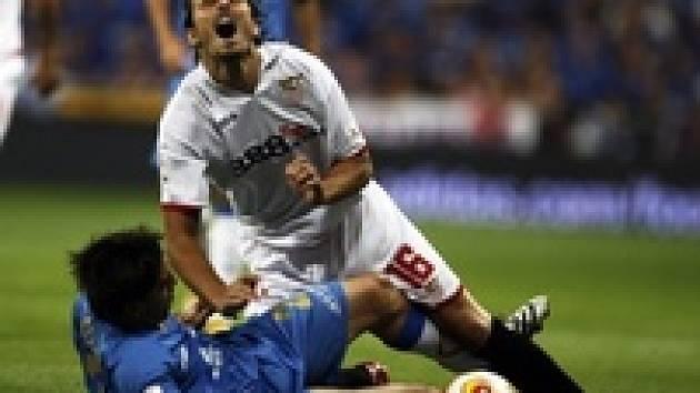 Puerta je faulován v zápase s Getafe