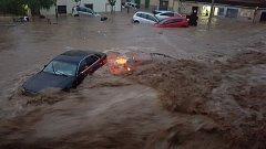 Bleskové povodně na španělském ostrově Mallorca