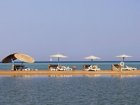 Letovisko Hurghada v Egyptě. Ilustrační foto
