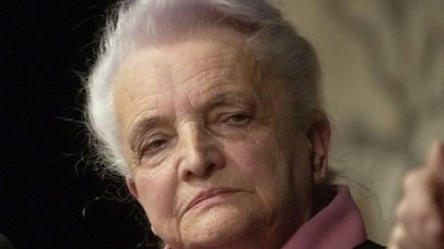 Spisovatelka Marie Kubátová, díky které máme večerníček Krkonošské pohádky.