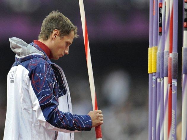 Oštěpař Vítězslav Veselý skončil na olympijských hrách v Londýně čtvrtý.