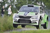 Jan Kopecká na Rallye Český Krumlov.