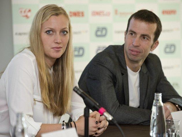 Petra Kvitová se na Hopman Cupu představí po boku svého přítele Radka Štěpánka.