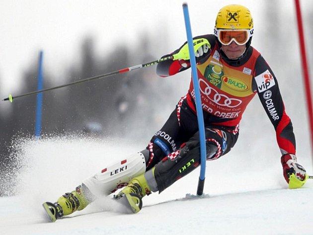 Ivica Kostelič ovládl slalom SP v Beaver Creek.