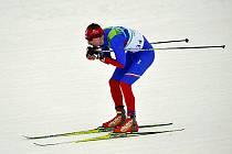 Český běžec na lyžích Lukáš Bauer.