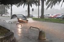 Povodeň v Zadaru