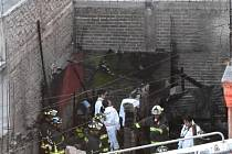 Při požáru v Mexico City zemřelo sedm dětí.