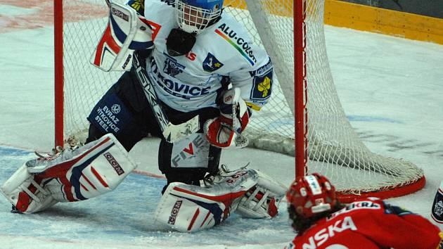 Hokejisté Slavie podruhé ve dvou dnech prohráli. Po domácím neúspěchu s Kladnem propadli i na ledě Vítkovic.