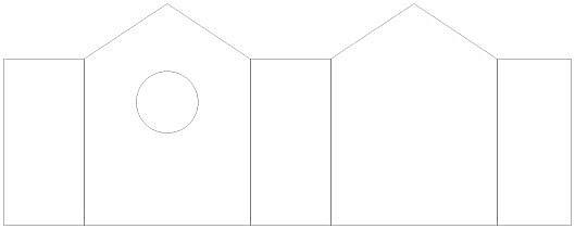 Krabička - šablona 1