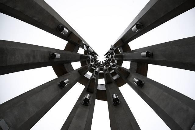 Památník obětem letu číslo 93 z 11. září 2001 v Pensylvánii.