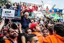 Luiz Inácio Lula da Silva v São Paulu