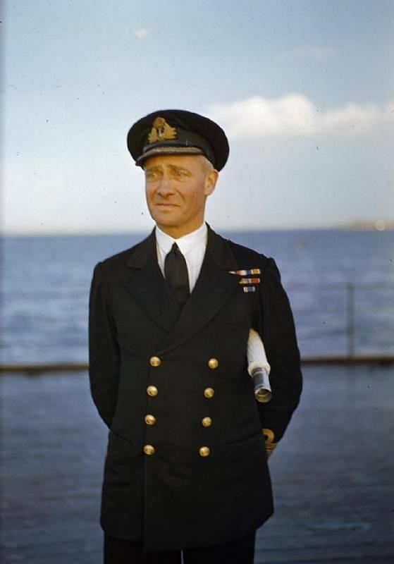 Britský velitel Philip John Mack