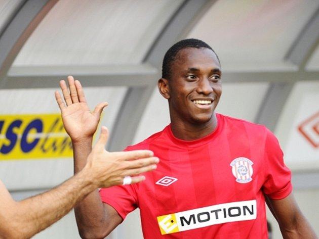 Mohamed Traoré v brněnském dresu.