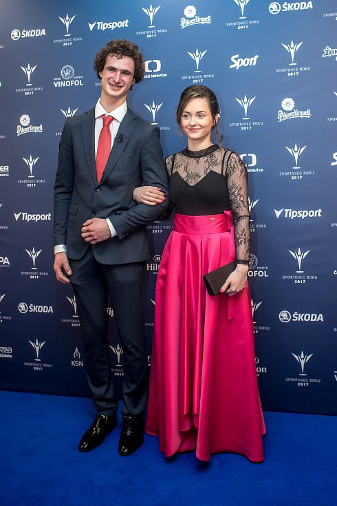Vyhlašování ankety Sportovec roku probíhalo 21. prosince v Praze. Adam Ondra