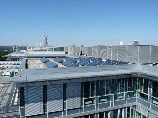 Projekt 10.Energie slunce a větru pro sídlo mobilního operátora