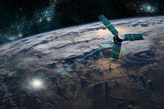 Satelit. Ilustrační snímek