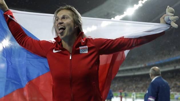 Barbora Špotáková je bronzová