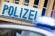 Služebna německé policie. Ilustrační snímek