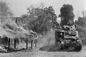 Britští vojáci v Barmě