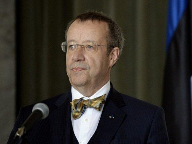 Estonský prezident Toomas Hendrik Ilves.