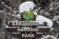 Krkonošský národní park v zimním období. Ilustrační snímek