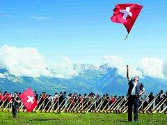 Najdou? Švýcaři budou vybírat hymnu příští rok na festivalu národní hudby. Zatím se s návrhy přihlásilo přes 200 autorů.