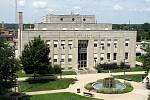 Radnice města West Terre Haute v Indianě, jež se 2. března 1961 stalo svědkem smrtící důlní katastrofy