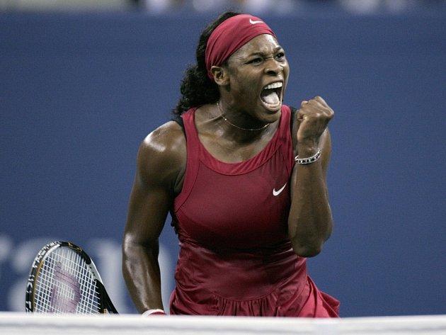 Devítinásobná grandslamová vítězka Američanka Serena Williamsová.