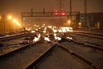 V americkém Chicagu hoří koleje